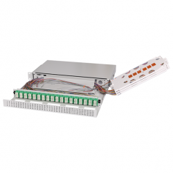 Ultra High Density Fiber Optic Patch Panel UHD ORMP 1U 144LC (removed trays)