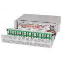 Ultra High Density Fiber Optic Patch Panel UHD ORMP 2U 288LC
